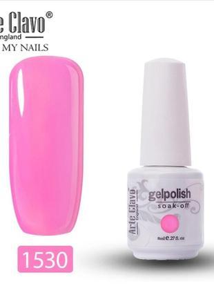 Гель лак неоновый розовый барби покрытие