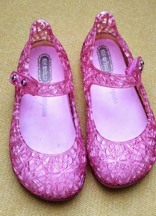 Mini melissa мини мелисса мыльницы аквашузы босоножки туфельки туфли campana 24