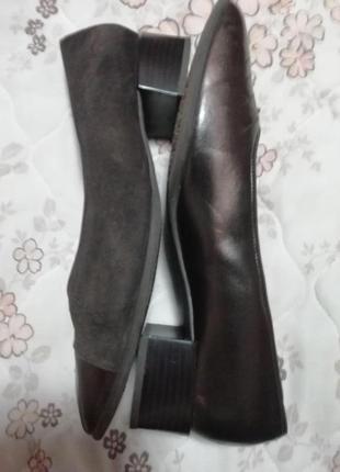 Туфли кожа+заменитель ara 41-7.5 размер стелька 27см