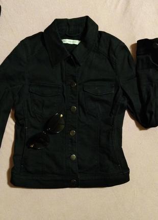 Очень крутая джинсовая куртка коновая оригинал