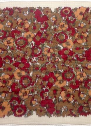 Шикарный итальянский шерстяной платок .