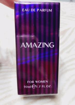 Женская парфюмированная вода amazing