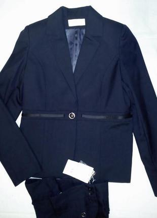 Шерстяной школьный костюм для девочки