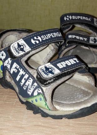 Детские сандалии босоножки superga 14,5cм