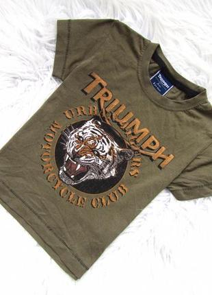 Стильная футболка triumph