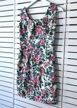 Платье коттоновое uk 10