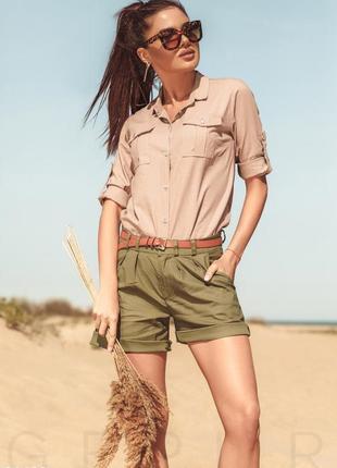 🔥🔥🔥стильные короткие, легкие женские шорты с отворотом dorothy perkins🔥🔥🔥
