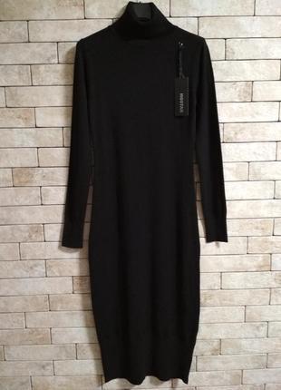 Платье-гольфик чернoго цвета, hostar