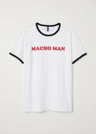 Забавная мужская футболка большого размера.