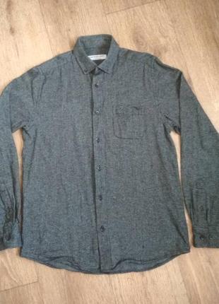 Отличная хлопковая рубашка подростку, cedarwood state, р. хs