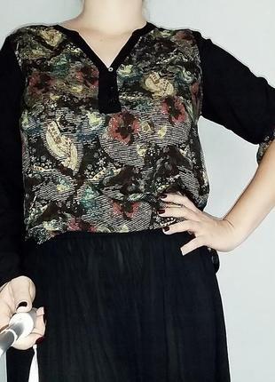 Симпатичная блуза cecil на 16-18 размер