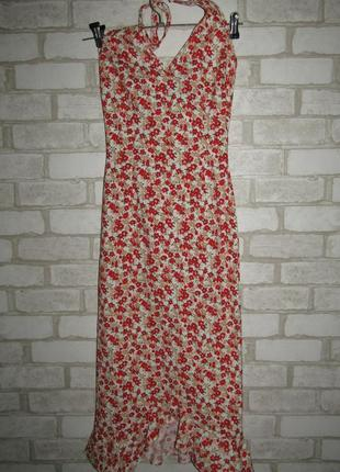 Красивое платье р-р xxs-xs бренд blanco