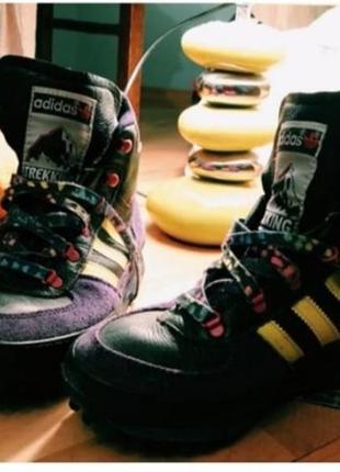 Бомбезные трекинговые кроссовки adidas  original!!!подписчику- скидка -10%