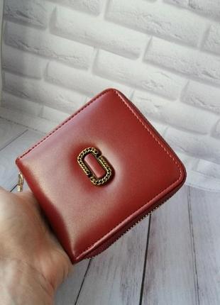 Кожаный женский кошелек из натуральной кожи шкіряний діночий гаманець на замку