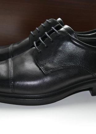 Ecco 44р туфли ботинки полуботинки сток. новые. оригинал