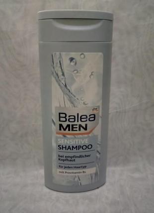 Balea men sensetive shampoo мужской шампунь 300мл