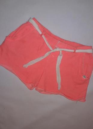 Шорты-толстовки цвета фламинго/домашние шорты