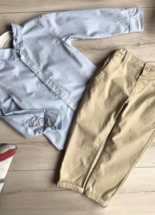 Набор на мальчика (штанишки/рубашка)