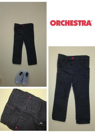 Узкие джинсы скини orchestra 1,5- 2 года