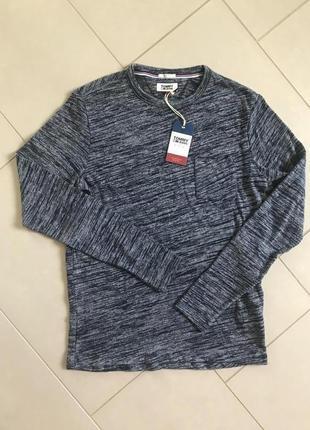 Реглан мужской стильный модный дорогой бренд tommy hilfiger размер м-l