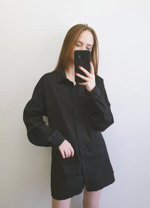 Чорне плаття сорочка