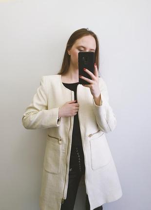 Молочне пальто