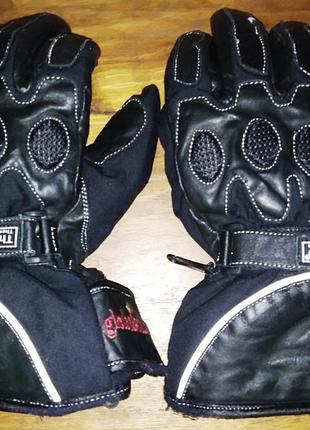 Кожаные мотоперчатки hipora