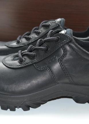 Ecco 38р кроссовки ботинки кожаные полуботинки. сток