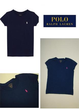 1+1=3 синяя футболка polo ralph lauren 8-10 лет