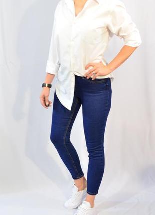 2952\90 синие джинсы jenna m l