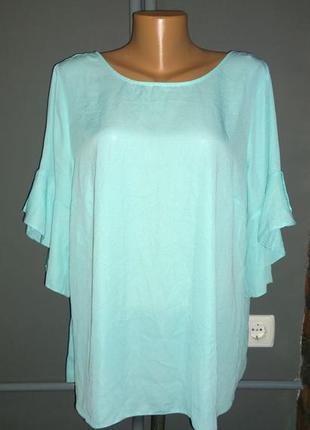 Блуза кофточка с оборками большого размера george