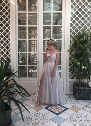 Вечернее платье (cвадебное)
