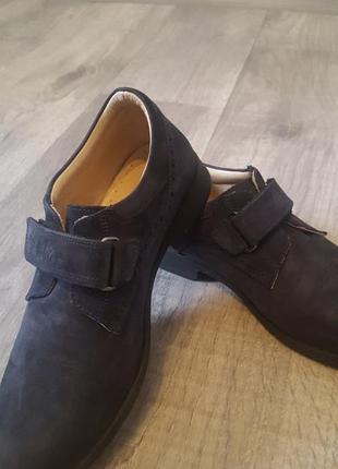 Кожаные туфли, оксфорды