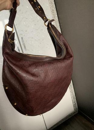 Оригинальная сумка gucci! кожа!