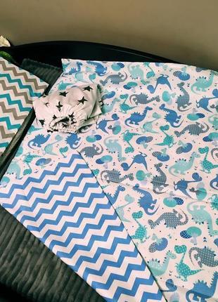 Постільний комплект для ліжечка