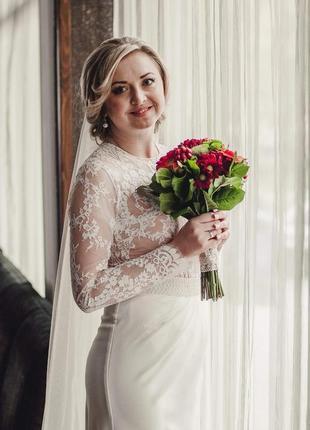 Весільне (може бути вечірнє) плаття tulipia (розмір m)