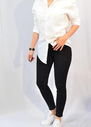 2958\80 беленые черные джинсы dp m l