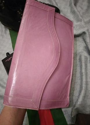 Мега клатч винтажный французский в стиле папка , планшет , портфель