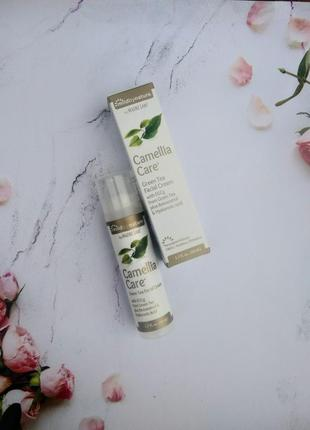 Оригинал mild by nature, camellia care, крем для кожи с egcg из зеленого чая,