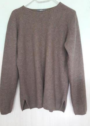 Кашемировый свитер с/м