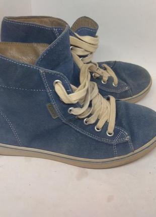 Замшевые деми ботинки 36 размер