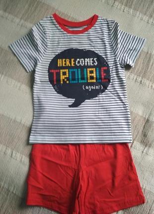 Пижама george 5-6 лет летняя