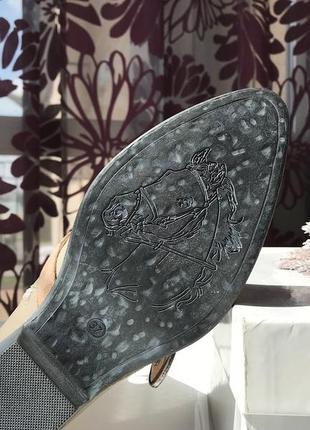 Актуальные кожаные сапоги - казаки, натуральная кожа, италия7 фото