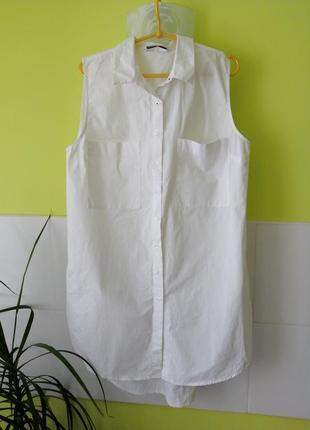 Крутое платье рубашка zara