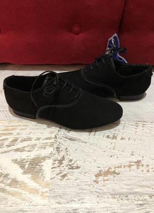 Новые натуральные фирменные туфли мокасины 36р.