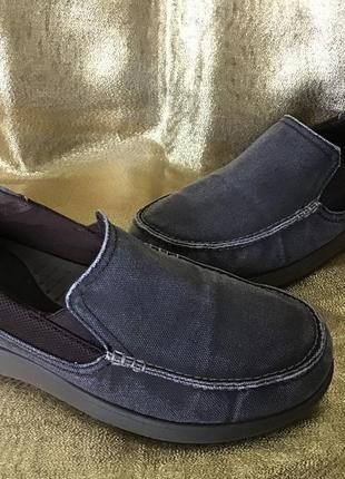 Кроссовки мокасины crocs размер 43-44(10m)