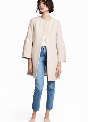 Пальто с широкими рукавами h&m