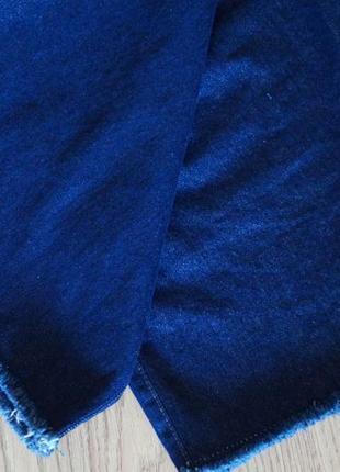 Широкие джинсы кюлоты с высокой посадкой8 фото