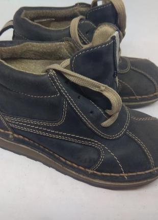 Кожаные деми ботинки 28 размер германия