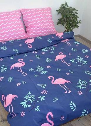 Постельное белье фламинго бязь